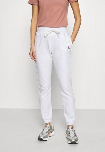 ROSE COLLECTION PANTS - Pantalones deportivos - white