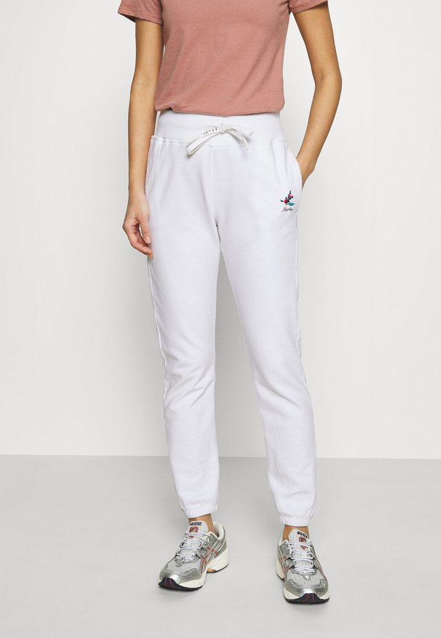 ROSE COLLECTION PANTS - Trainingsbroek - white