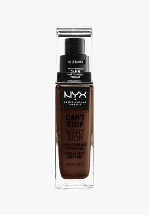 CAN'T STOP WON'T STOP FOUNDATION - Fond de teint - 25 deep ebony