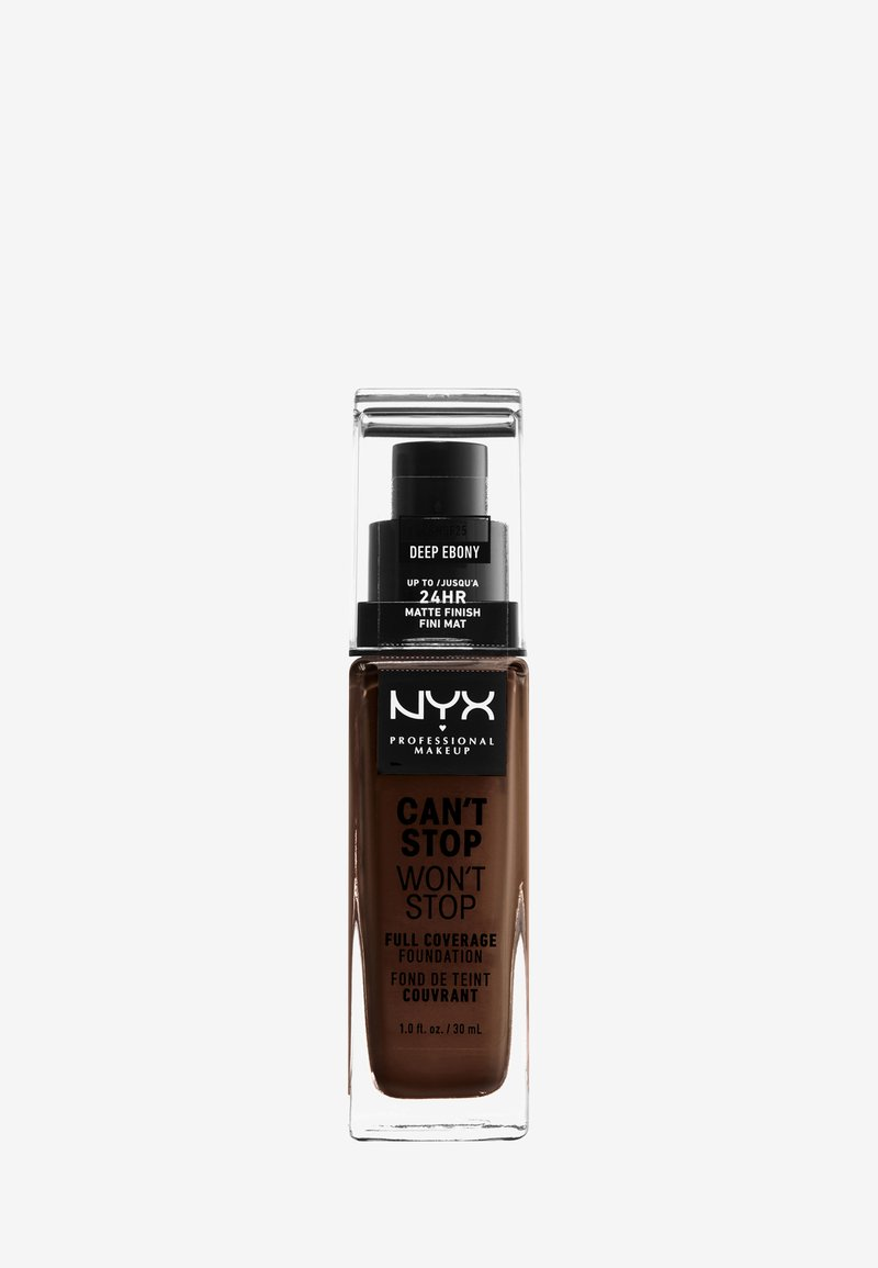 Nyx Professional Makeup - CAN'T STOP WON'T STOP FOUNDATION - Foundation - 25 deep ebony