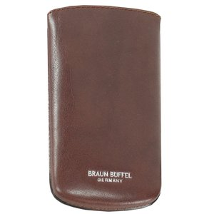 BASIC (13 cm) - Key holder - cognac