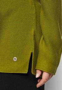 MY TRUE ME TOM TAILOR - STRUCTURED - Jumper - wood green - 6