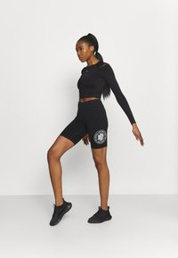 ONLY Play - ONPJABRIL SHORT - Long sleeved top - black - 1