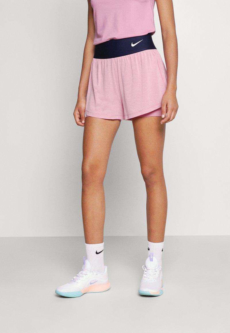 Nike Performance - SHORT - Träningsshorts - elemental pink/white