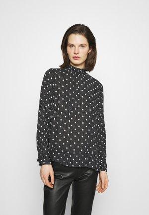 KAPALOMA AMBER  - Long sleeved top - black/chalk