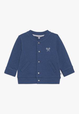 Mikina na zip - bleu roi