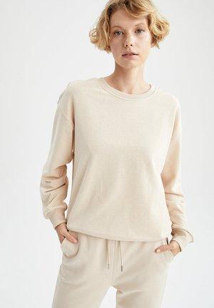 REGULAR FIT  - Sweatshirt - beige