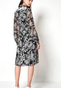 DESOTO - Shirt dress - white/dark blue - 2