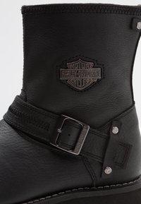 Harley Davidson - RICHTON - Cowboy/biker ankle boot - black - 5