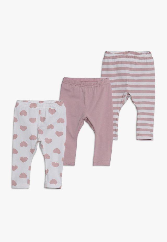 NBFLEGGING 3 PACK - Leggings - Trousers - pink nectar