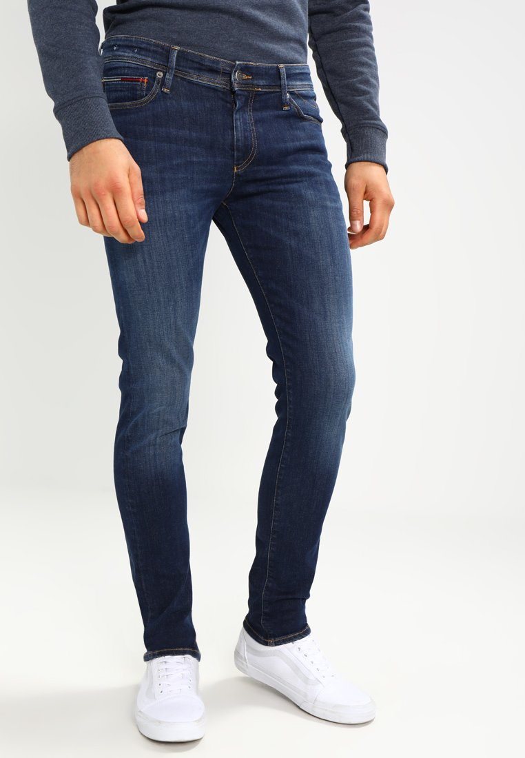 jerarquía orden Torpe  Tommy Jeans SKINNY SIMON - Jeans Skinny Fit - dynamic true dark/blue denim  - Zalando.co.uk