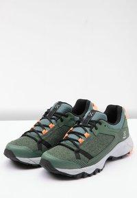 Haglöfs - TRAIL FUSE  - Hiking shoes - dk agave green/true black - 3