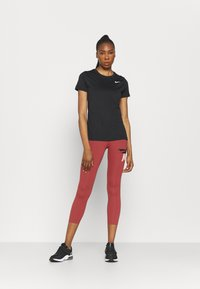 Nike Performance - ONE CROP - Tights - canyon rust/pink glaze/black - 1