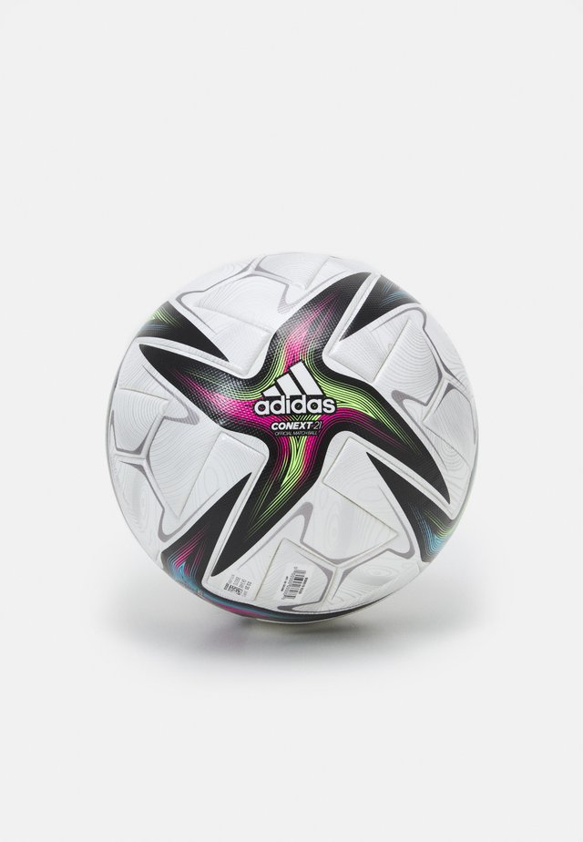 PRO - Voetbal - white/black/shock pink/silver