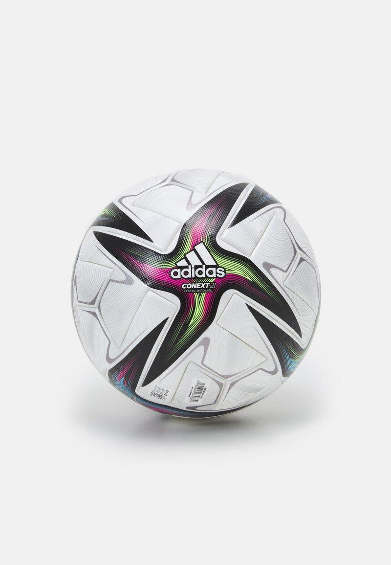 adidas Performance - PRO - Fotbal - white/black/shock pink/silver