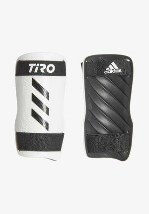 TIRO TRAINING SHIN GUARDS - Shin pads - black