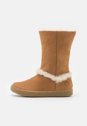 PLAY MOOT - Boots - camel/nude