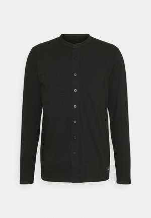 REACT GRANDAD SOLID - Camicia - black