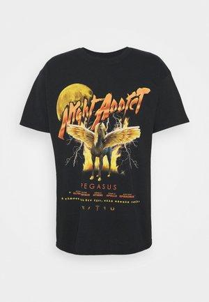 PEGASUS - T-shirt imprimé - black