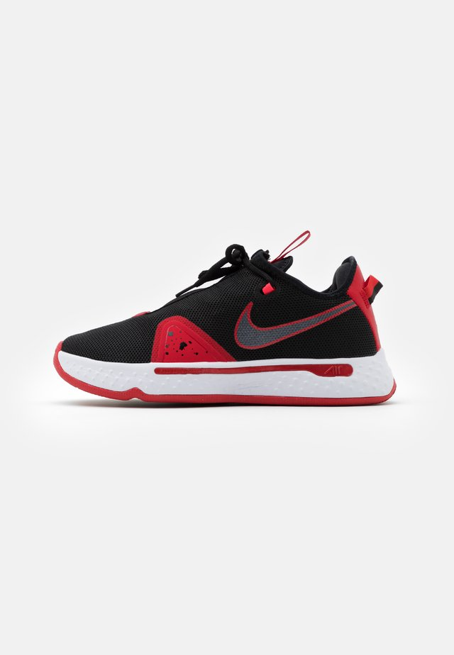 PG 4 - Chaussures de basket - black/university red/white
