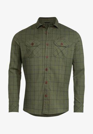 JERPEN LS SHIRT III - Shirt - cedar wood