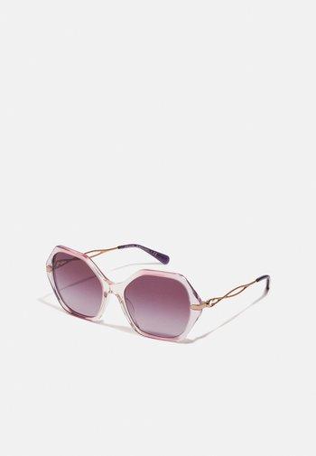 Sunglasses - gradient transparent violet