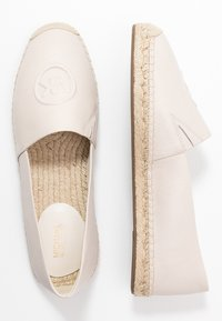 MICHAEL Michael Kors - Espadrillot - light cream