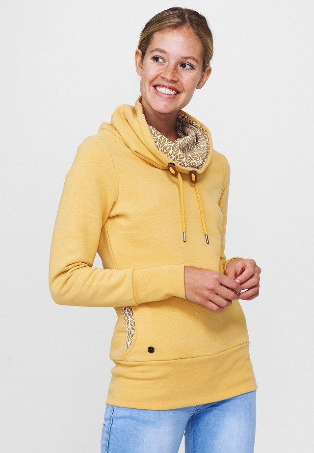 LAVERTON - Hoodie - yellow