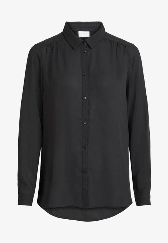 VILUCY - Button-down blouse - black