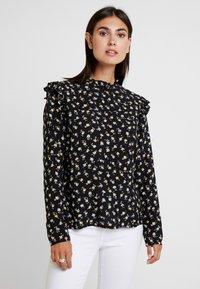 Aaiko - FRANCE FLOWER - Blouse - black - 0