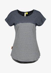 alife & kickin - CLAIREAK - Print T-shirt - marine - 5