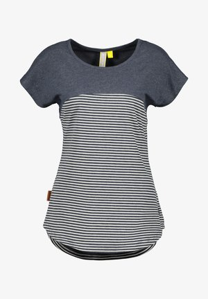 CLAIREAK - T-shirt imprimé - marine