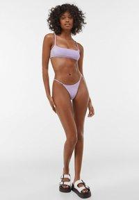 Bershka - Bikini top - mauve - 1