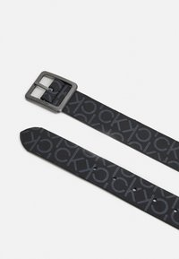 Calvin Klein - CENTER BAR MONO - Belt - black - 1