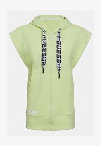 Guess - LOGO-TUNNELZUG - Zip-up hoodie - grün - 3