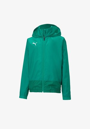 TEAMGOAL TRAINING - Waterproof jacket - gruen