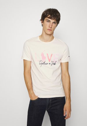 SHORT SLEEVE - T-shirt con stampa - love pink