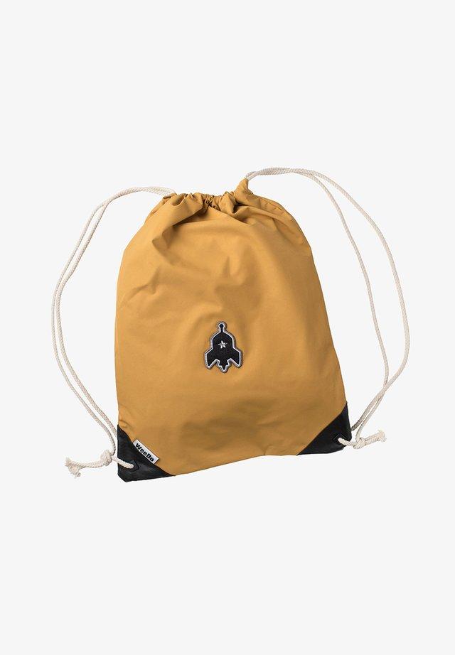 Drawstring sports bag - leoprint black