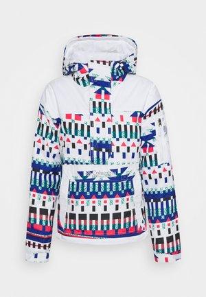 CHALLENGER - Zimní bunda - white/multi