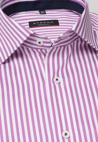 Eterna - MODERN FIT - Shirt - pink/weiss - 5