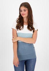 alife & kickin - CLEAAK - Print T-shirt - steel - 0