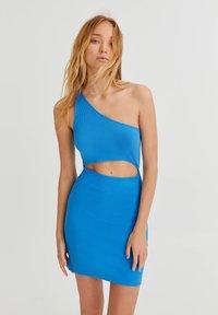 PULL&BEAR - Shift dress - blue - 0