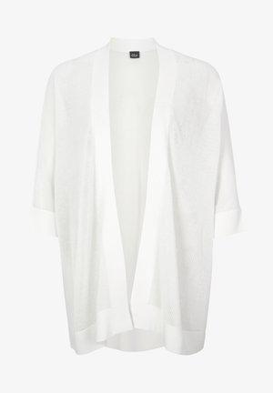 MIT 3/4-ARM - Cardigan - white