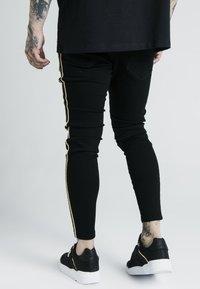 SIKSILK - DANI ALVES ROPE - Slim fit jeans - black - 2