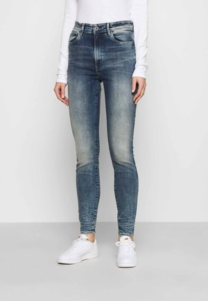 KAFEY ULTRA HIGH SKINNY - Jeans Skinny Fit - antic faded kyanite
