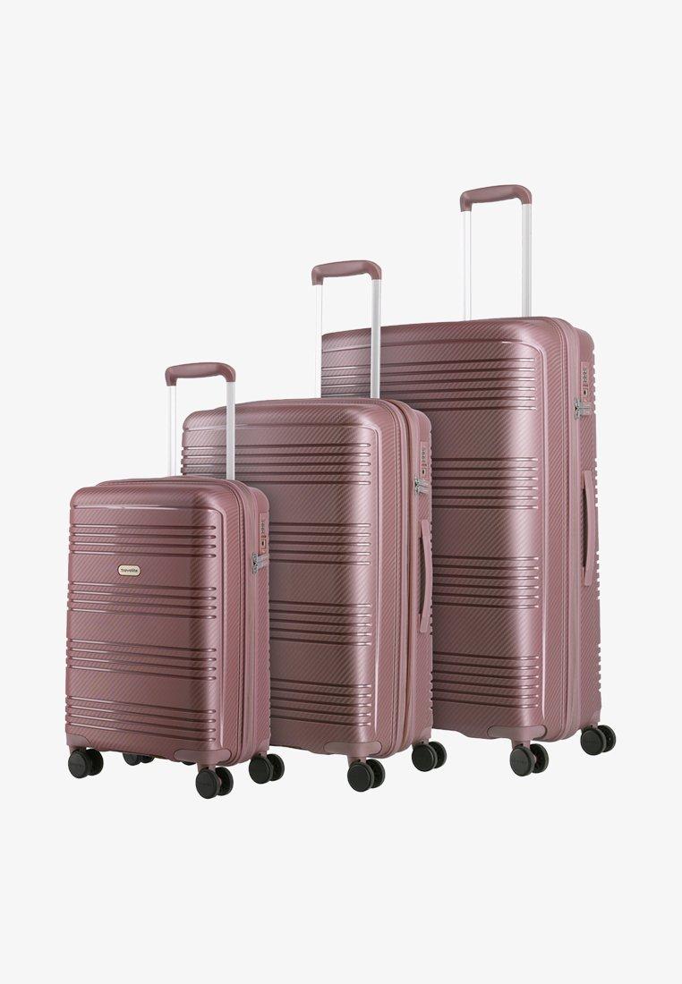 Travelite - SET PACK - Luggage set - lilac