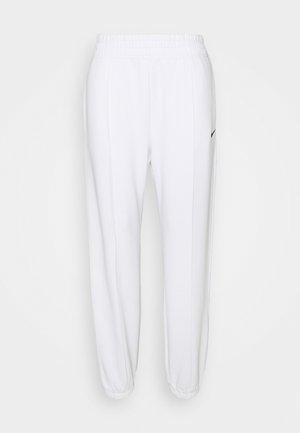 Teplákové kalhoty - white/black
