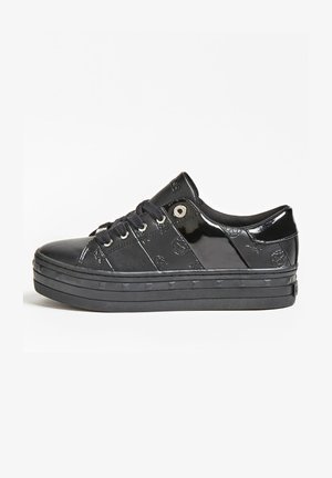 BUSTIN EINGEPRÄGTES LOGO - Sneakers basse - schwarz