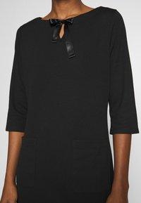 Re.draft - COZY DRESS - Denní šaty - black - 4