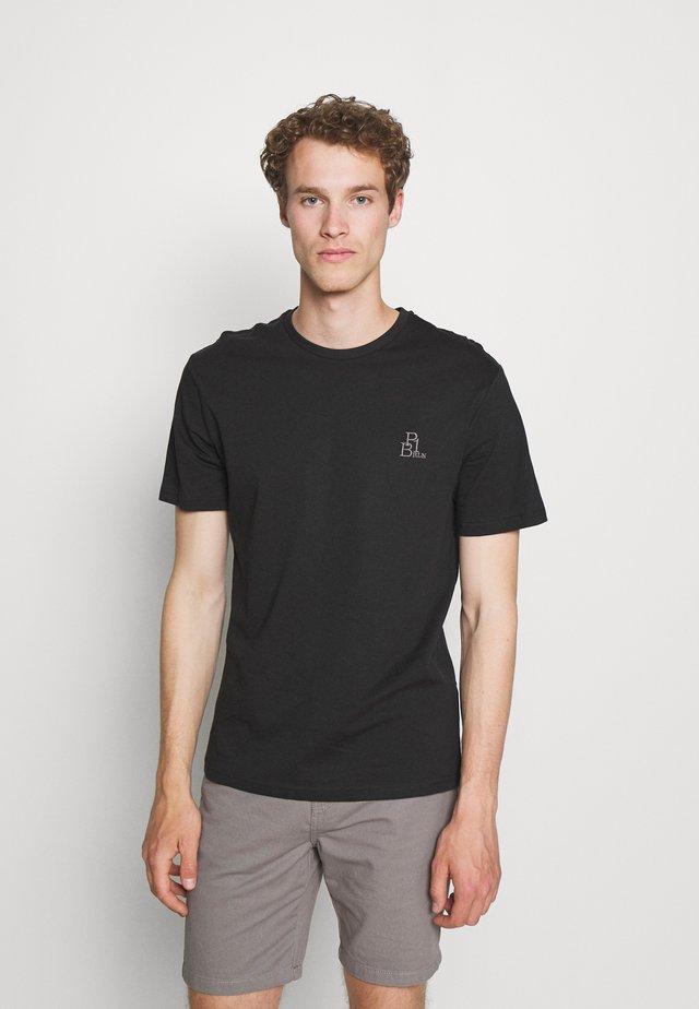 Jednoduché triko - black